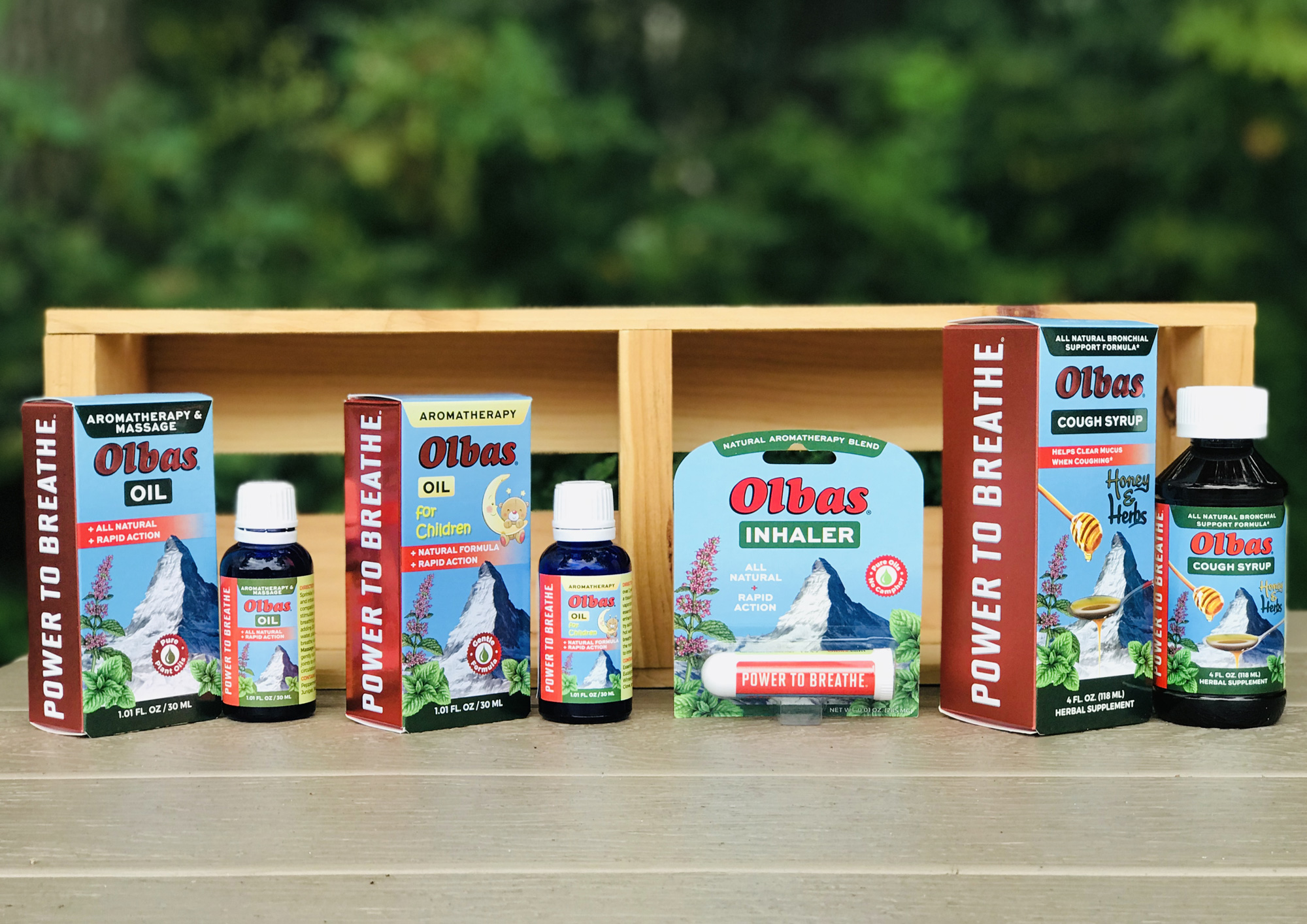 Olbas Remedies Products Lineup